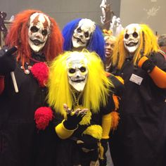 Spotted at the Halloween Trade Show in St. Louis MO 2012.  Love them or fear them? We love them at Kersey Valley Spookywoods in NC because most people fear them!