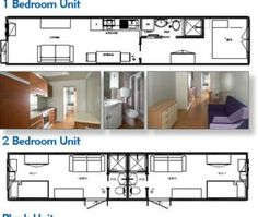 container home architectural plans