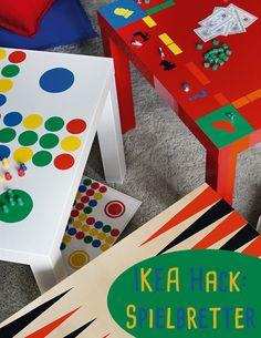 IKEA-Hack Anleitung: Verwandelt Tischplatten in Spielbretter!