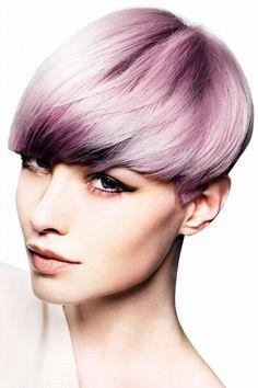Hair styles 2013. Lavender hair color