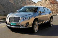 OMG... it's Bentley's 2015 SUV ...I luv it:)