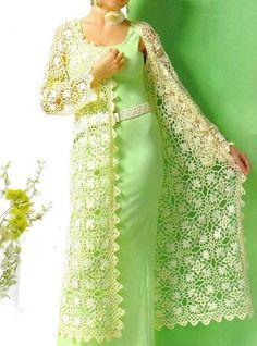 Crochet Sweaters: Cardigan for Women - Luxury Crochet Cardigan for E...