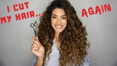 how to cut curly hair Layered Curly Haircuts, Long Layered Curly Hair, Thin Curly Hair, Colored Curly Hair, Haircuts For Curly Hair, Curly Hair Tips, Diy Hairstyles, Curly Hair Styles, Curly Hair Layers