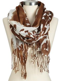 #3 must have, animal print scarf