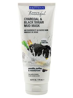 Charcoal & Black Sugar Mud Mask from Freeman | Find more cruelty-free beauty @Quirkist |