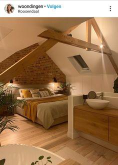 Loft Room, Bedroom Loft, Home Bedroom, Bedroom Decor, Attic Bedroom Designs, Attic Rooms, Attic House, Home Deco, Home Projects