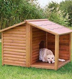 fa777042064 Casas de madera para perros Casetas Para Perros Grandes