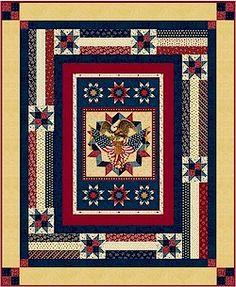 "patriotic quilt patterns | Thread: Free ""American Valor"" patriotic quilt pattern from Marcus"
