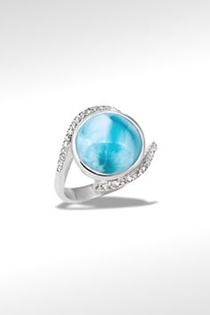 Larimarket - MarahLago Adella Collection Larimar Ring, $249.00 (http://www.larimarket.com/marahlago-adella-collection-larimar-ring/)