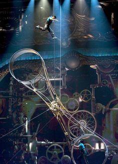 Zarkana By Cirque Du Soleil Swings into Spotlight at Aria Resort & Casino Nov. 9