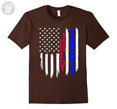 Mens American Flag July 1991 - 26th Birthday Gifts Funny Tshirt 3XL Brown - Birthday shirts (*Amazon Partner-Link)