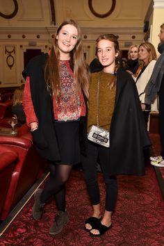 Ambrosia Hicks and Leonetta Luciano Fendi at the Fendi aMANda short film première.