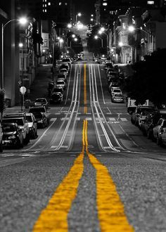 black and white photography with a splash of colour STREET SCENE - Google Search