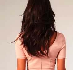 warm chocolate brown with chestnut highlights