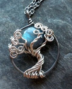#Tree Of Life #Labradorite #Full Moon can be seen here-http://www.artfire.com/ext/shop/gallery_item/Vixensnaturaljewelry/90947