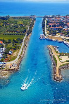 Potidea, Chalkidiki, Greece.