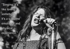 She& more than a rock star who died at Janis is an important figure in rock and roll, who had great insight on the world and music. 60s Music, Music Love, Music Is Life, Blues Music, Janis Joplin Quotes, Rock And Roll Quotes, Dj Quotes, Inspirational Quotes, Musician Quotes