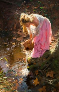 (Spain) by Vincente Romero Redondo (1956- ). Oil on canvas.