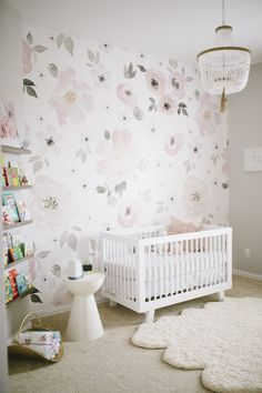 Shop the Room: Harper's Watercolor Floral Nursery - Project Nursery