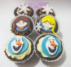 cupcakes Frozen 2D