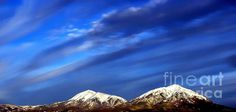 Rocky Mountain Storm Sky Painting by Barbara Chichester - Rocky Mountain Storm Sky Fine Art Prints and Posters for Sale