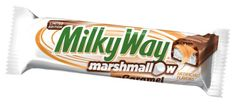 Milky Way Limited Edition Marshmallow with Caramel Chocolate Bar