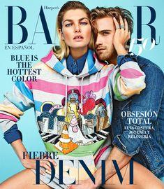 Harper's Bazaar Mexico May 2017 Jessica Hart by Alexei Hay
