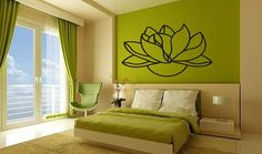 Wall Vinyl Sticker Decals Mural Art Decor by StickersForWall, $28.90  For my yoga room in white