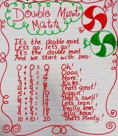 MInt Math-Such a cute activity. I would use for fact families!