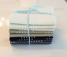 Cotton and Steel basics Fat Quarter bundle -neutrals by NancyJoFabrics on Etsy