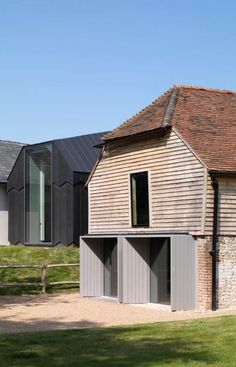 Ditchling Museum of Art + Craft, Adam Richards Architects, world architecture news, architecture jobs: Architecture Jobs, Residential Architecture, Architecture Details, Contemporary Barn, Modern Barn, Cotswold House, Bungalow Extensions, Cottage Extension, Exterior Cladding