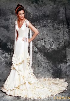 Flamenco Fashion for Brides by Vicky Martin Berrocal