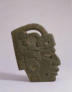 Acquired Robert and Lisa Sainsbury Collection. Arte Tribal, Aztec Art, Historical Artifacts, Ancient Artifacts, Colombian Art, Mayan Cities, Jungle Art, Mesoamerican, Masks Art