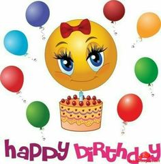 Happy birthday emoticons is a best way to wish your friends, family members or closed ones. Happy birthday emoticons makes time saver. Happy Birthday Smiley, Happy Birthday Quotes, Happy Birthday Images, Happy Birthday Greetings, Birthday Greeting Cards, Humor Birthday, Birthday Emoticons, Funny Emoticons, Smileys
