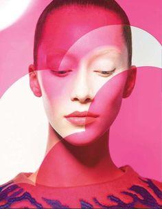 Photos of Vogue Japan 'Form and Color' Editorial (Via: vogue.co.jp, imageamplified)