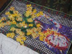 Les mimoses - Journal Textile - Nadine Levé