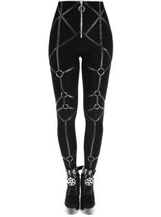 fb04ae016d7da 10 Best Gothic LEGGINGS images | Gothic leggings, Gothic fashion ...