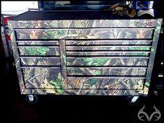Camo tool box