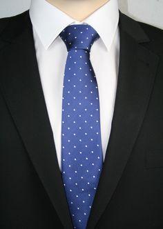 JD 1 Krawatte extralang Royalblue 160cm