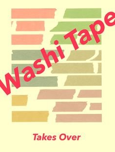"""Washi combines the words for Japan and paper, so this is paper tape.  A good-quality tape can move about seven times, on average, says Nina Allen, whose Sweet Bella wholesale company is the U.S. distributor for MT tape.  The tape would be like masking tape, but more delicate, and more colorful.  """"MT,"""" for masking tape, stuck, and that's the tape that Sweet Bella imports from Japan."""