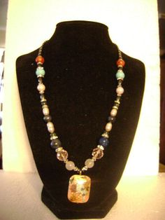 Beautiful Necklace Handmade by Disabled Veteran #Handmade