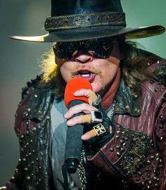 "Guns N' Roses Launch ""An Evening of Destruction. No Trickery!"" at The Joint in Hard Rock Hotel Las Vegas (Pictured: Axl Rose of Guns N' Roses – Photo: © Erik Kabik / Retna / www.erikkabik.com)."