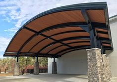 Amphitheaters and Entertainment Idea Gallery Modern Carport, Light And Shadow, Trellis, Pavilion, Pergola, Arch, Entertainment, Outdoor Structures, Gallery