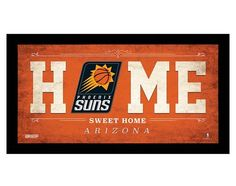 NBA Home Sweet Home Sign - $14.99 + $5 standard shipping
