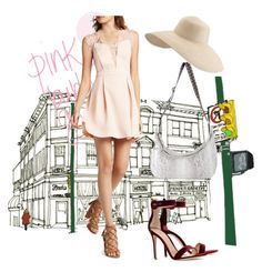 """""""DRESS"""" by masayuki4499 on Polyvore featuring BCBGeneration, Gianvito Rossi, Cashhimi and Eric Javits"""