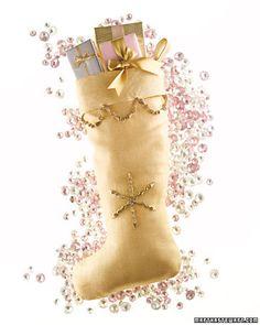 Beautiful Christmas Decorations by Martha Stewart Christmas Bells, All Things Christmas, Christmas Home, Handmade Christmas, Christmas Stockings, Christmas Holidays, Christmas Manger, Crochet Christmas, Christmas Morning