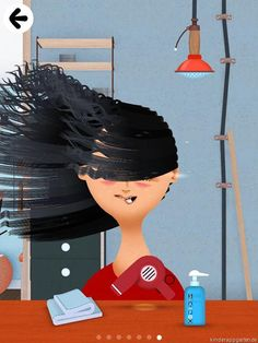 Best Kids Apps Toca Hair 2