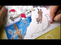 Tarinatädin Värityskuvat – Joulukalenteri tulossa! - ELINAP