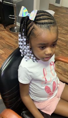 - All For Hairstyles Toddler Braided Hairstyles, Toddler Braids, Cute Little Girl Hairstyles, Cute Hairstyles For Kids, Baby Girl Hairstyles, Braids For Kids, Girls Braids, Black Hairstyles, Kids Braids With Beads