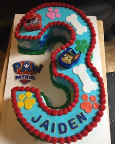 Paw Patrol Birthday Cake Paw Patrol Cake My Cakes In 2018 Pi… – Pastry, cakes, cookies 3rd Birthday Cakes, Happy 2nd Birthday, 3rd Birthday Parties, Birthday Ideas, Birthday Pictures, Bolo Do Paw Patrol, Torta Paw Patrol, Paw Patrol Cupcakes, Paw Patrol Birthday Theme
